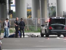 Während die Unfälle im Strassenverkehr generell abnehmen, trifft es immer häufiger Velofahrer.