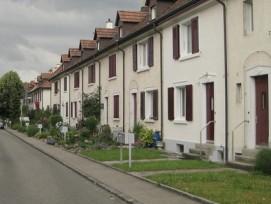Keine kommunale Mehrwertabgabe im Kanton Basel-Landschaft: Die Regierung stiess den Entscheid der Münchensteiner Gemeindeversammlung (im Bild: Wohnsiedlung Wasserhaus) um.