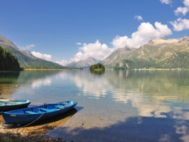 Rätselhaft: Im Silsersee werden trotz sehr guter Wasserqualität weniger Fische gefangen.