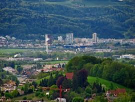 Wucherndes Siedlungsgebiet: In Spreitenbach AG hat der Beton die Natur stark zurückgedrängt.