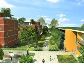 In Gland VD entsteht das nachhaltige Quartier Eikenøtt.
