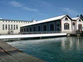 Von der Dienstabteilung zur öffentlich-rechtlichen Anstalt? Der Zürcher Stadtrat möchte die Organisationsform des Elektrizitätswerks der Stadt Zürich (EWZ), im Bild das Flusskraftwerk Letten, ändern.