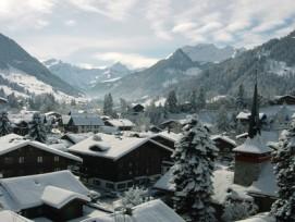 Nicht mehr Geld für den Tourismus: Die Tourismusorte (im Bild: Gstaad) können nicht von einem aufgestockten Budget für Schweiz Tourismus profitieren.