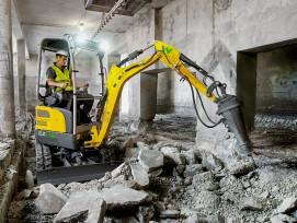 Wacker Neuson führt das weitaus breiteste Programm an elektrischen Baumaschinen und Geräten. Damit lassen sich ganze Baustellen an emissionssensiblen Orten abwickeln, etwa im Innenbereich.