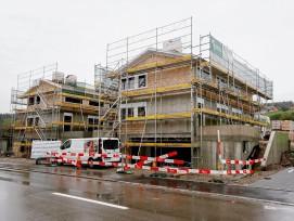 Baustelle Einfamilienhäuser