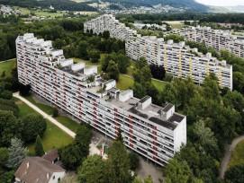 Gross-Siedlung Telli in Aarau, «Staumauern» genannt