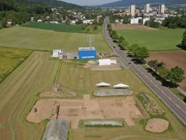 Ausgrabungsstätte am Gubrist-Nordhang