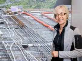 Marlies Elsäßer-Heitz: «Heizen und Kühlen mit Elementplatten überzeugt.»