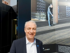 Für Marcel Gmür, Sales Director Switzerland, ist Starck ein Wurf gelungen.