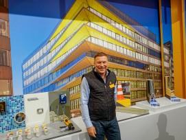 Neue Produkte zur Fugen- und Bauwerksabdichtung zeigt Martin Keller.