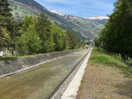 Hochwasserschutz Schächenschale Uri