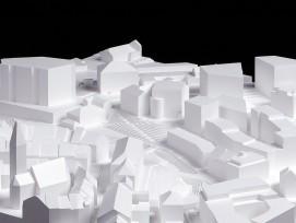 Modell Neubau und Erweiterung Kantonsgericht Liestal