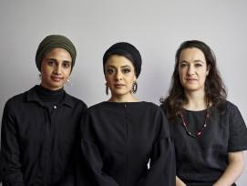Amina Kaskar, Sumayya Vally and Sarah de Villiers von Counterspace.