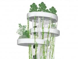 Visualisierung grüner Turm Basel