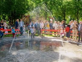 Spiel- und Bewegungsinseln im Schützenmattpark in Basel