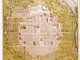 Mannheim-Stadtplan von 1813