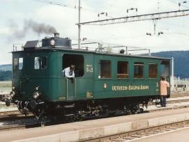 Der Dampftriebwagen UeBB CZm 1/2 31