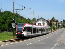 Seetalbahn in Beinwil am See