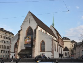 Historisches Museum in der Barfüsserkirche in Basel