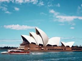Opernhaus von Sydney (Aussenaufnahme)