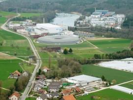 Paul Scherrer Institut in Villigen im Kanton Aargau