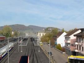 Visualisierung: Die SBB bauen in Liestal von drei auf vier Spuren aus.