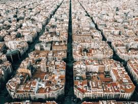 Stadtteil Eixample in Barcelona