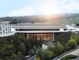 Der Ende 2018 eröffnete Stenna-Komplex in Flims GR ist ein touristischer Grossbau.