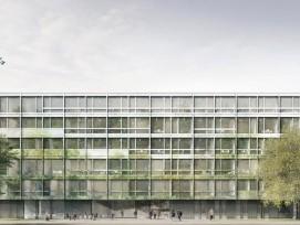 Visualisierung des neuen Polizei- und Sicherheitszentrums Schaffhausen