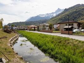 Kanal Les Illes nach der Sanierung