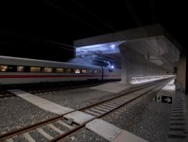 Testbetrieb im Ceneri-Basistunnel