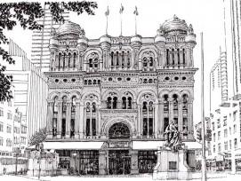 Das Queen Victoria Gebäude in Sydney.