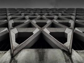 Beton-Fassade