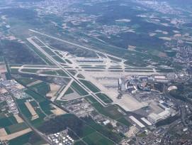 Luftbild Flughafen Zürich