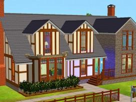 Das Haus der Familie Hübsch aus Sims