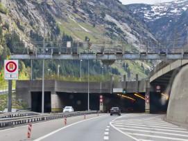 Nordportal Gotthard-Strassentunnel