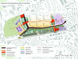 Masterplan Chantier Bethlehem West in Bern