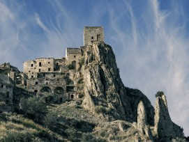 Craco, Panorama (Detail)