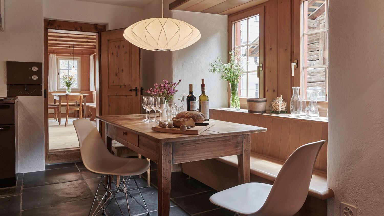 Küche, Grosshaus, Ferien im Baudenkmal