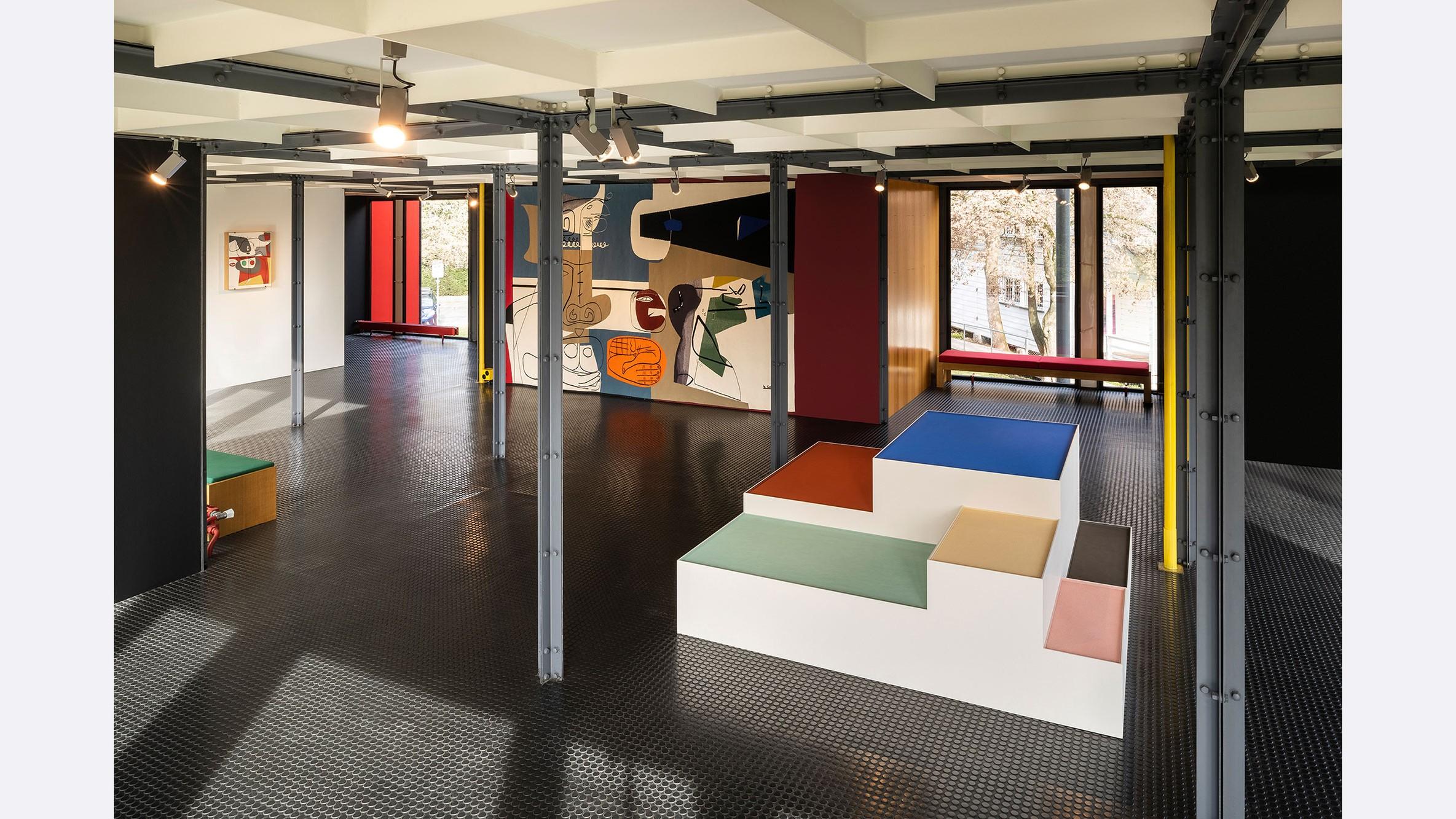 Pavillon Le Corbusier, Ausstellung «Le Corbusier und die Farbe»