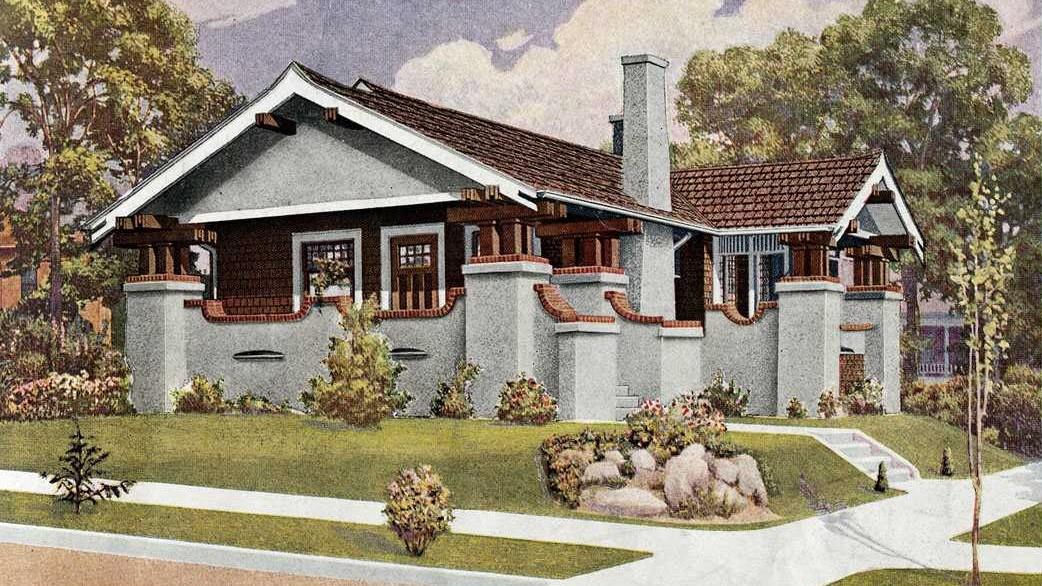 Hausmodell The Osborn aus dem Sears-Katalog