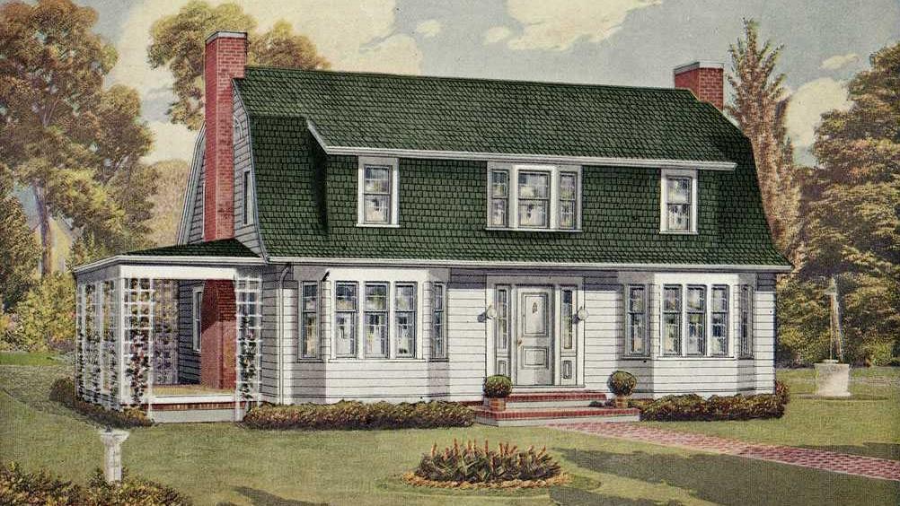 Hausmodell The Verona aus dem Sears-Katalog
