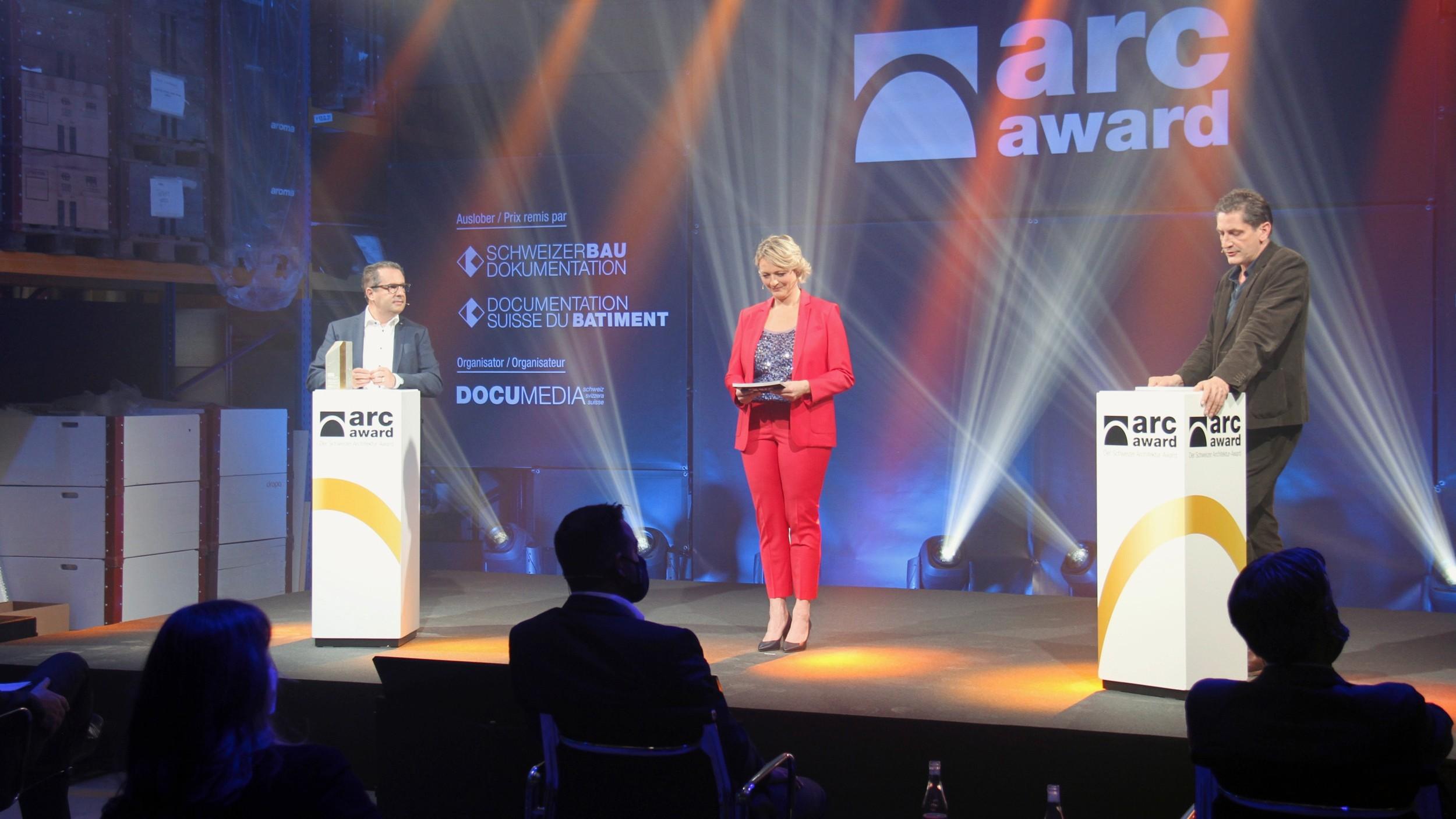Preisverleihung des Arc-Award