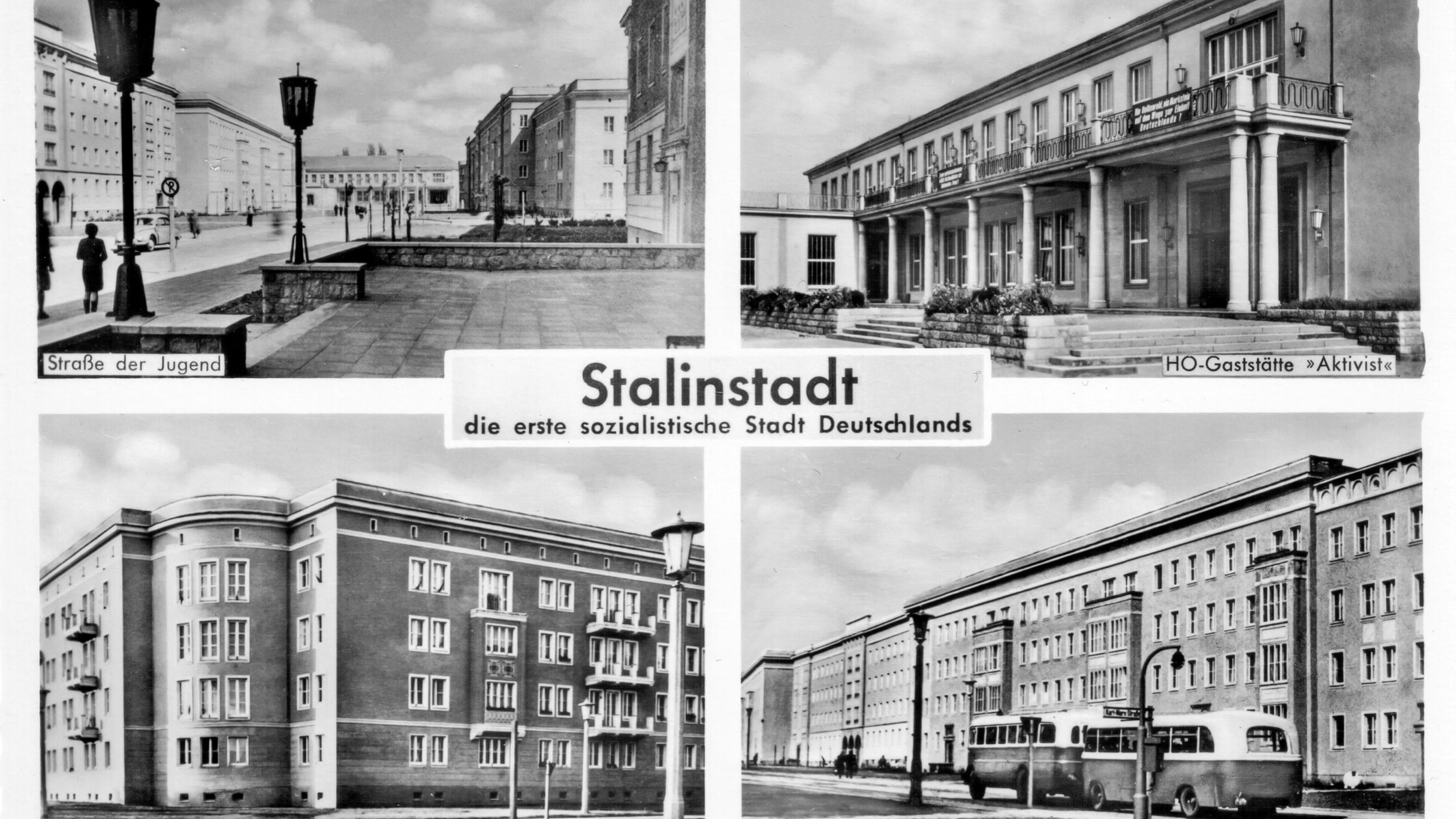 Architekturführer Eisenhüttenstadt 1