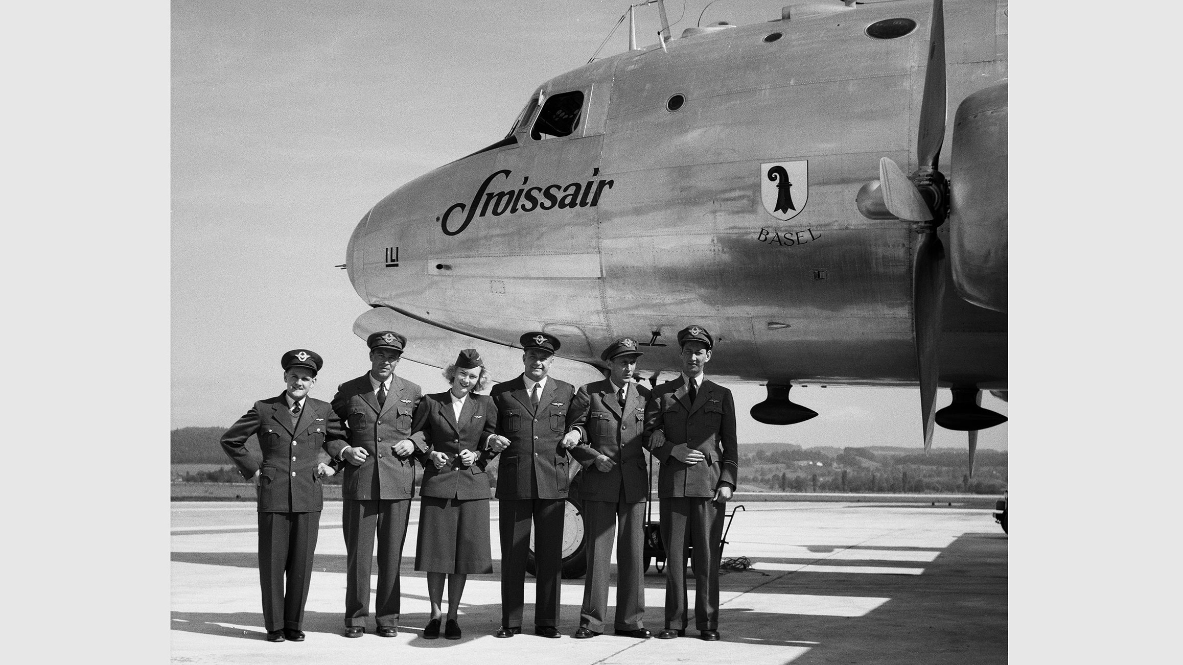 Crew vor Douglas DC-4