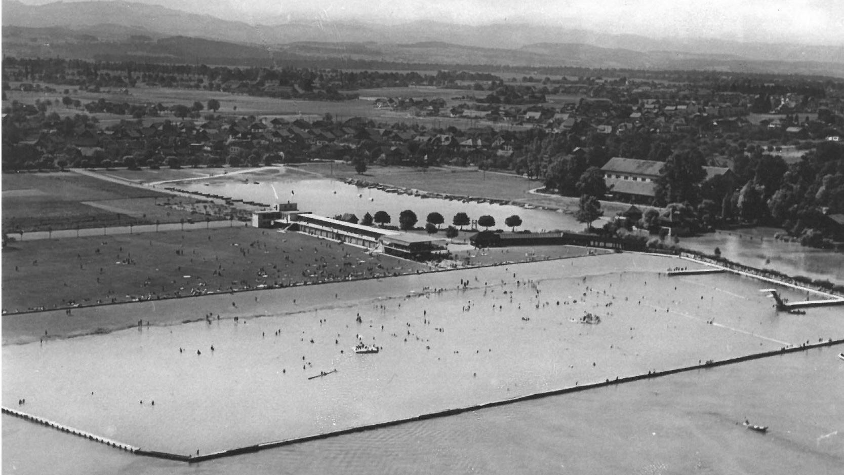 Gesamtanlage im Eröffnungsjahr 1933