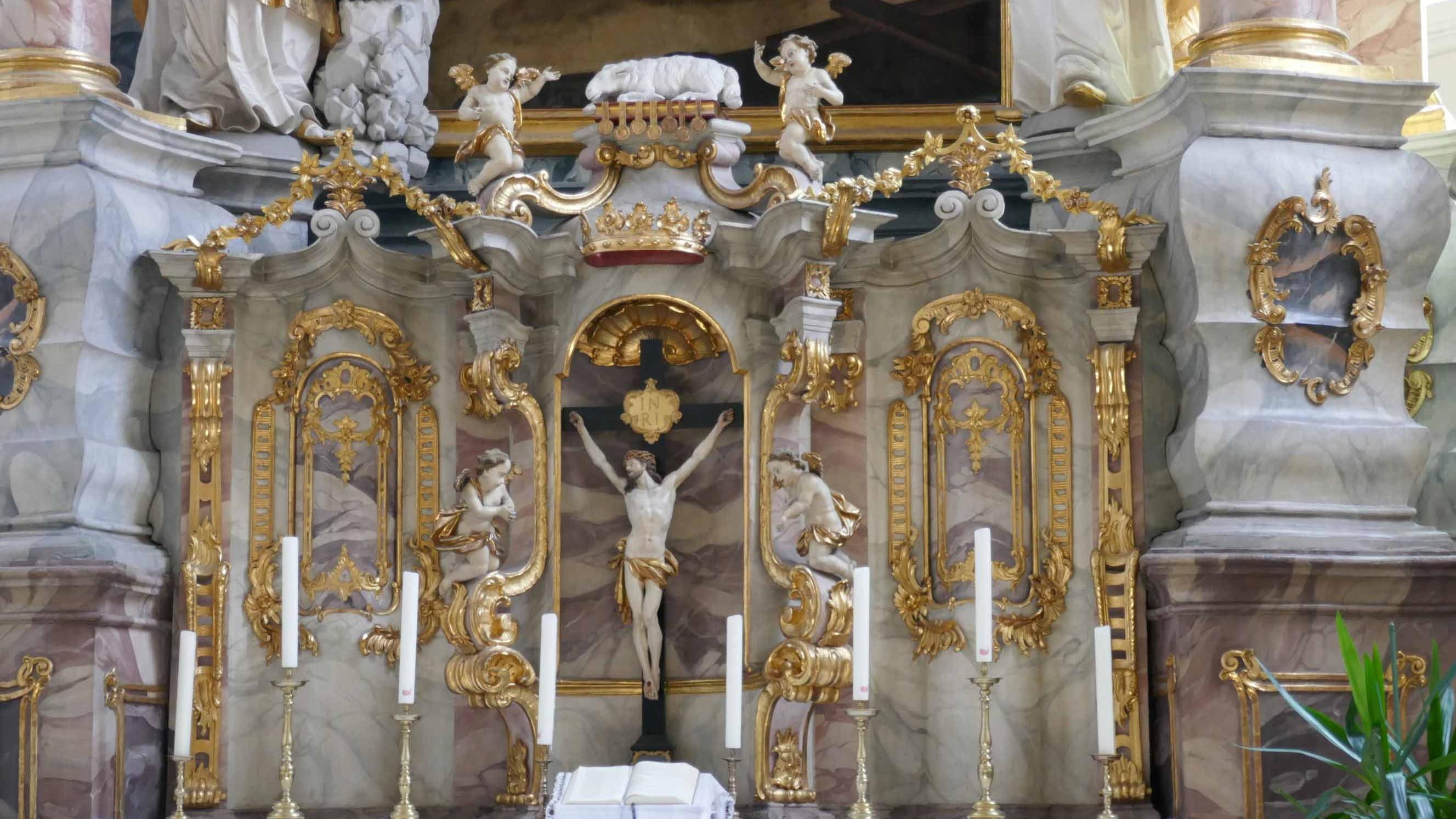 Altar Kirche St. Michael in Weiden