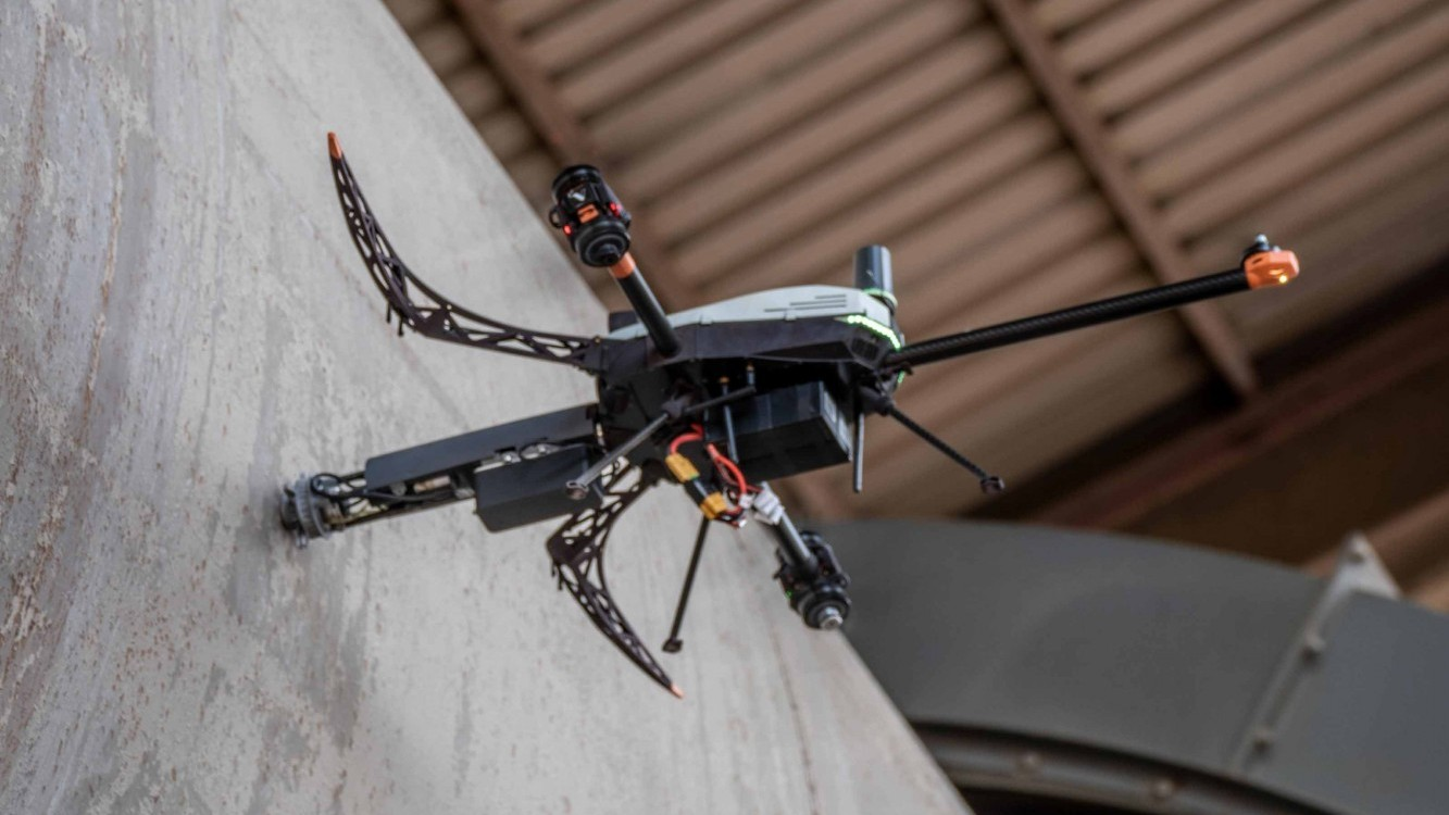 Drohnen-Messung bei Holcim-Zementwerk