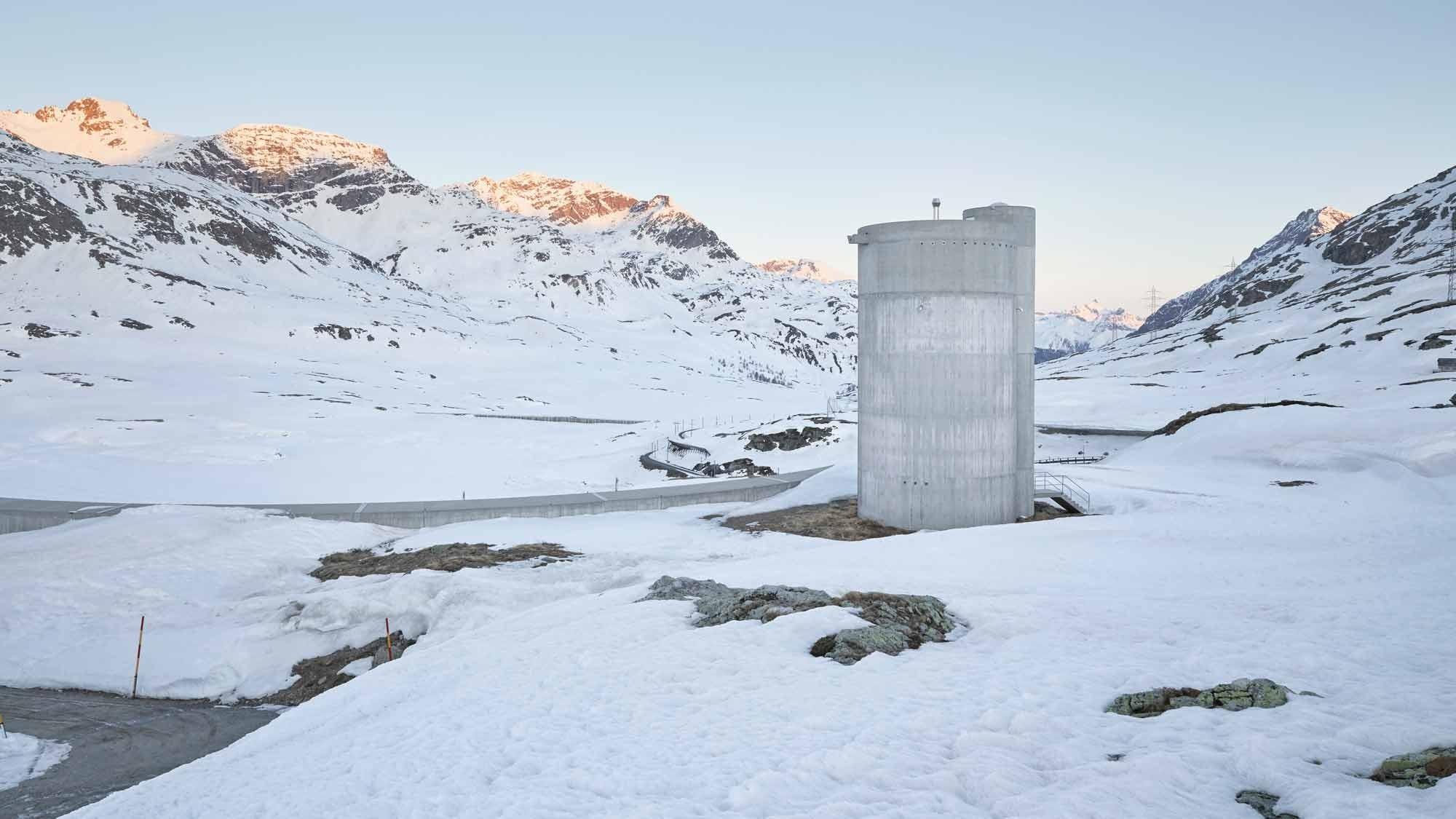 Unterhaltsstützpunkt Berninapass von Bearth & Deplazes Architekten