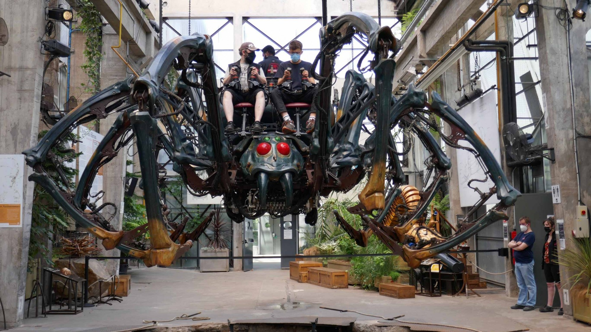 Mechanische Spinne der Les Machines de L'île